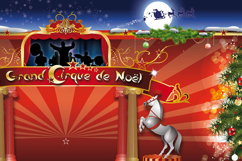 illustration Le grand Cirque de Noël - Détail